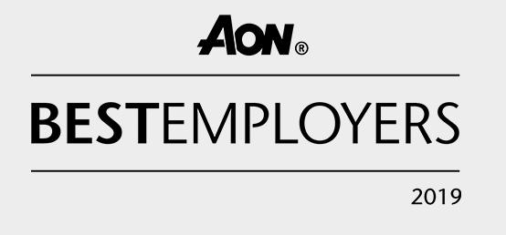 logo AON Best employers 2019
